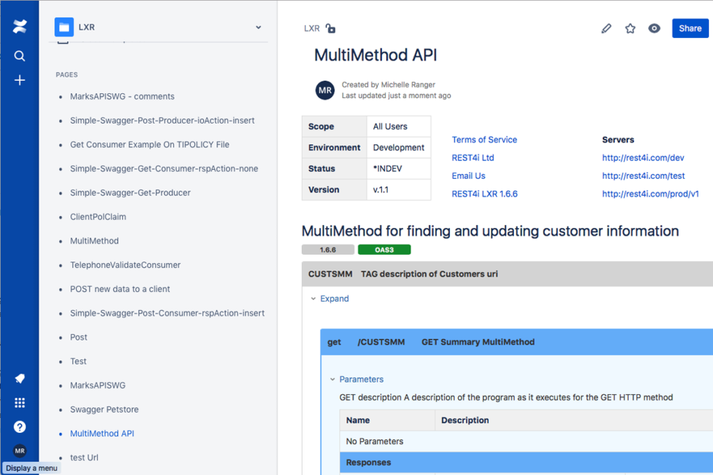 Export to Atlassian Confluence